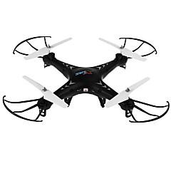 billige Fjernstyrte quadcoptere og multirotorer-RC Drone SJ  R / C X300-1 4 Kanaler 6 Akse 2.4G Fjernstyrt quadkopter En Tast For Retur / Hodeløs Modus / Flyvning Med 360 Graders Flipp