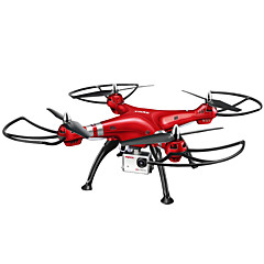 billiga Drönare och radiostyrda enheter-RC Drönare SYMA X8HW 4 Kanaler 6 Axel 2.4G Med HD-kamera 5.0MP 1920*1080 Radiostyrd quadcopter LED Lampor / Retur Med Enkel