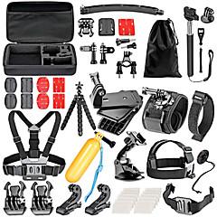 baratos Câmeras Esportivas & Acessórios GoPro-Acessório Kit Para Câmara de Acção Gopro 6 / Gopro 5 / Xiaomi Camera Natação / Mergulho / Esqui Plástico / Náilon / EVA - 36 pcs