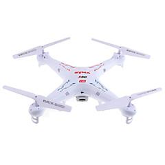 billiga Drönare och radiostyrda enheter-RC Drönare SYMA X5C 4 Kanaler 6 Axel 2.4G Med HD-kamera 2.0MP 720P Radiostyrd quadcopter LED Lampor / 360-Graders Flygning / Sväva
