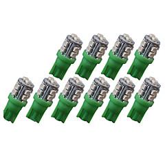 billige Interiørlamper til bil-SO.K 10pcs T10 Bil Elpærer SMD 3528 80 lm 10 utvendig Lights