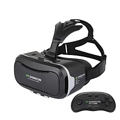 VRのshineconリモートゲームパッドとII 2.0最新のアップグレード版バーチャルリアリティ3Dメガネ