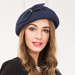 ウール合金の魅力帽子のヘッドピースクラシックな女性のスタイル