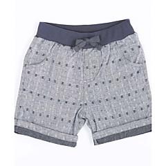 billige Gutteklær-Baby Gutt Ensfarget Bomull Shorts