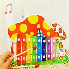 צעצוע חינוכי צעצוע צעצועים כלים מוסיקליים פטרייה עץ חתיכות מתנות