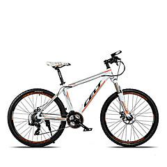 אופני הרים רכיבת אופניים 24 מהיר 700CC/26 אינץ' גברים דיסק בלימה שמן מזלג שיכוך שלדת סגסוגת אלומיניום נגד החלקה סגסוגת אלומיניוםתפוז /
