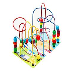 tanie Odstresowywacze-Muwanzi Zabawka edukacyjna Gadżety antystresowe Zabawki Zabawne Kwadrat Okrągły Drewniany Sztuk Dla dziewczynek Dla chłopców Dzień Dziecka