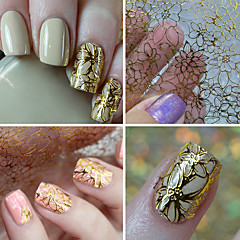 1 Nail Art Sticker 3D Negle Stickers Makeup Cosmetic Nail Art Design