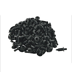100 Pcs 5mm Hole Vehicle Car Door Rivet Fastener Trim Panel Retainer Clip