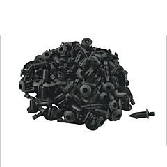 100 buc portiera 5mm vehicul gaură nit de fixare panoul ornamental clip de prindere