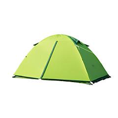 Naturehike 2 personer Telt Dobbelt camping Tent Ett Rom Turtelt Hold Varm Vanntett Bærbar Vindtett Regn-sikker Sammenleggbar Pusteevne