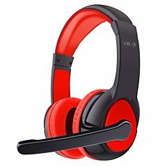 OVLENG V8-3 ヘッドホン(ヘッドバンド型)Forメディアプレーヤー/タブレット 携帯電話 コンピュータWithマイク付き DJ ボリュームコントロール FMラジオ ゲーム スポーツ ノイズキャンセ Hi-Fi 監視 Bluetooth