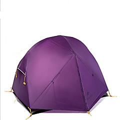 Naturehike 2 אנשים אוהל מחסה וברזנט כפול קמפינג אוהל חדר אחד אוהלים לטיפוס הרים מאוורר היטב עמיד למים ייבוש מהיר עמיד עמיד אולטרה סגול