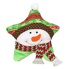 저렴한 -크리스마스 장식 크리스마스 파티 제품 크리스마스 장난감 홀리데이 용품 크리스마스 텍스타일 실버 아이보리 화이트