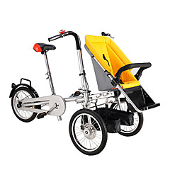 billige Sykler-Foldesykkel Sykling 16 tommer (ca. 39cm) Dobbel skivebremse Vanlig Foldbar Vanlig Stål