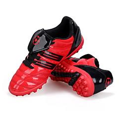 Fußball-Schuhe Kinder Rutschfest Anti-Shake Atmungsaktiv Wasserdicht Halbschuhe PVC Leder Fussball