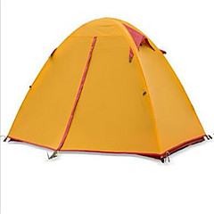 Naturehike 2 personer Telt Beskyttelse & Presenning Dobbelt camping Tent Ett Rom Turtelt Velventilert Vanntett Fort Tørring Ultraviolet