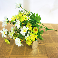 billige Kunstige blomster-Kunstige blomster 1 Gren Pastorale Stilen Kurvplante Bordblomst