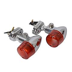 hesapli -Sarı motosiklet dönüş sinyali göstergesi halojen ışık (2 adet)