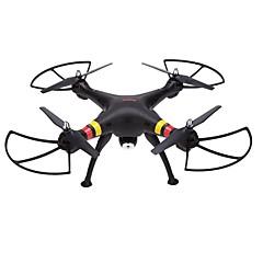 billige Fjernstyrte quadcoptere og multirotorer-RC Drone SYMA X8C 4 Kanaler 6 Akse 2.4G Med HD-kamera 2.0MP 200 Fjernstyrt quadkopter FPV / En Tast For Retur / Feilsikker Fjernstyrt