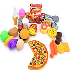 billiga Leksakskök och -mat-Leksaksmat Leksaker Mat levande Barnsäkert Originella Plast Flickor Barn Present