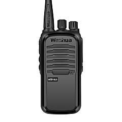 billige Walkie-talkies-wanhua Walkie-talkie Håndholdt Dobbelt bånd Overvågning >10 km >10 km 16 3500.0 6 Walkie Talkie Toveis radio