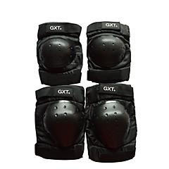 GXT G06 4 ks / set krátký kolenní chrániče loktů motocykl motorka motokrosová zařízení ochranu motokros motocyklu kolen