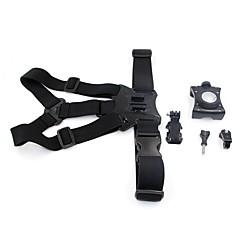tanie Akcesoria do GoPro-Pasek na klatkę piersiową 3D Dla Action Camera Inne Narciarstwo Skoki ze spadochronem Wspinaczka górska Rower Podróże Plastikowy Nylon