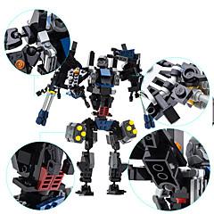 רובוט אבני בניין צעצועים דינוזאור מכונה רובוט רמה מקצועית טרנספורמבל בנים נערים 901 חתיכות