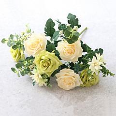 ieftine -1 ramură Mătase Trandafiri Flori artificiale 47