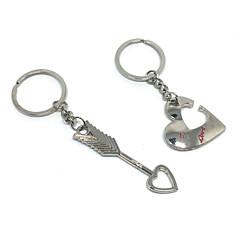 Cinkötvözet Kulcstartó kedvezmények Darab / Set Kulcstartók Klasszikus téma Nem személyre szabott Ezüst