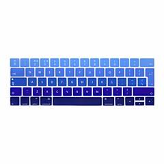 xskn® europäischen Englisch Gradient Silikon-Tastatur Haut und Sensorleiste Schutz für 2016 neueste MacBook Pro 13.3 / 15.4 mit Touchbar