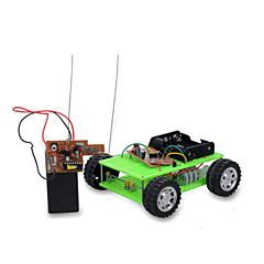 태양열 에너지 장난감 라디오 제어 장난감 자동차 장난감 차 DIY 남아 조각