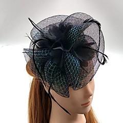 Diadema-Nuntă Ocazie specială Pălărioare Pălării/Căciuli Voaluri Plasă 1 Bucată