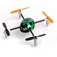 RC Drone Walkera LadybirdV2 4 Kanaler 3 Akse 5.8G - Fjernstyrt quadkopter Flyr På Hodet Fjernstyrt Quadkopter Fjernkontroll Kamera