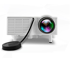 tanie Projektory-UNIC LCD Mały projektor LED Projektor 500 lm Wsparcie 1080p (1920x1080) 10-100 in Ekran / 4:3 i 16:9 / QVGA (320x240) / ±15°