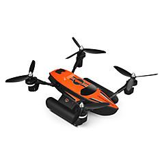 billige Fjernstyrte quadcoptere og multirotorer-RC Drone WL Toys Q353 4 Kanaler 6 Akse 2.4G Fjernstyrt quadkopter LED Lys / En Tast For Retur / Auto-Takeoff Fjernstyrt Quadkopter / / CE