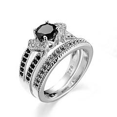 levne -Prstýnky Denní Šperky Ocel Prsten 1ks,6 7 8 9 10 Stříbrná