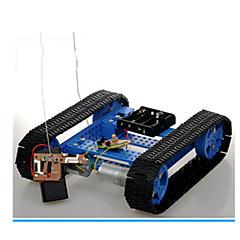 Aurinkoenergialla toimivat lelut Radio-ohjattavat Leluautot Lelut Panssarivaunu Robotti Poikien Pieces