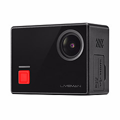 Letv Liveman® Sports Action Camera 16MP WiFi Touchscreen Panorama Wide Angle 120fps 1.5 CMOS 64 GB Burst Mode Time-lapse 40 M