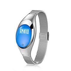 tanie Inteligentne zegarki-Inteligentne Bransoletka na iOS / Android Pulsometry / Pomiar ciśnienia krwi / Spalonych kalorii / Ekran dotykowy / Wodoszczelny / Wodoodporny Powiadamianie o połączeniu telefonicznym / siedzący