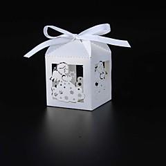 baratos -50pcs caixa de doces do anjo caixa de festa do bebê caixa de papel favorita caixa