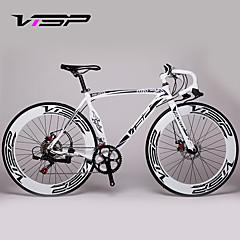 אופני נוחות / אופני הרים / כביש אופניים רכיבת אופניים 14 מהיר 700CC/26 אינץ' 70mm גברים / נשים / יוניסקס SHIMANO A050 דיסק בלימה כפולמזלג