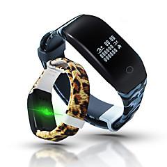 Slimme armbandWaterbestendig Lange stand-by Verbrande calorieën Stappentellers Gezondheidszorg Sportief Hartslagmeter Touch Screen