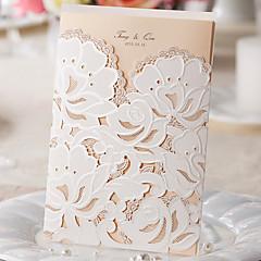 baratos -Embrulhado e de Bolso Convites de casamento-Cartões de convite Estilo Clássico Papel Pérola