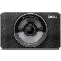 Original 360 carro dvr câmera completa hd 1080p 30 fps fno 2.0 fov 165 graus