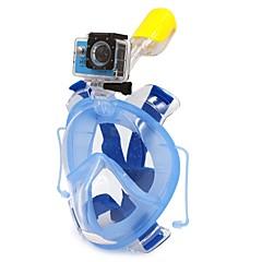 Schnorchel Sets Maske zum Schnorcheln Vollgesichtsmaske Tauchen und Schnorcheln Tauchgerät PVC Kunststoff Silikon-WINMAX