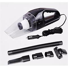 120w kannettava auton pölynimuri märkä ja kuiva dual käyttö auto tupakansytytinliitäntään HEPA-suodatin 12v musta