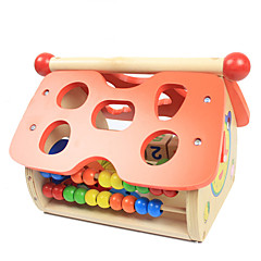 Stavební bloky Vzdělávací hračka Hračky Dům Pieces Děti Dětské Dárek