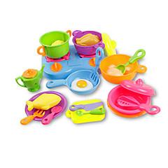 Hrajeme si na... Panenky Toy kuchyňských sestav Hračky Simulace Unisex Pieces